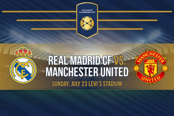 Intl Champions Cup: Real Madrid vs Man United – Tickets Available!