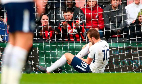 Harry Kane's World Cup fears as Tottenham star faces scan on ankle