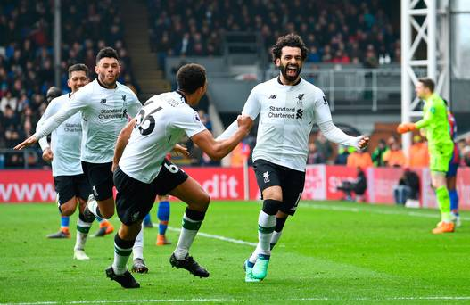 Mo Salah strikes once again to secure late victory for Liverpool at Selhurst Park